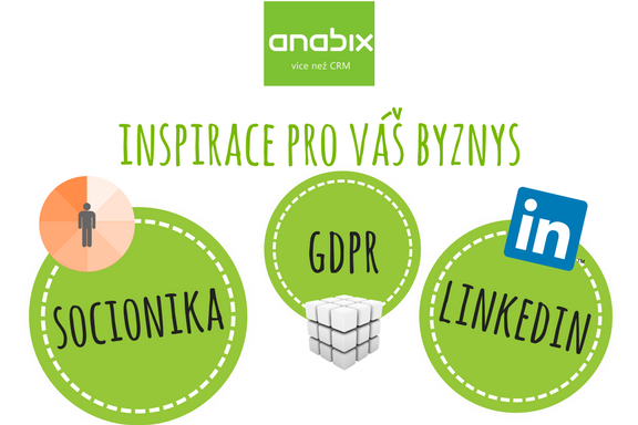 Co má společného GDPR, LinkedIn, Socionika aAnabix?