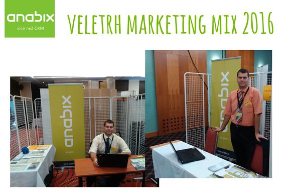 Osobní setkání naveletrhu Marketing Mix vPraze aBrně