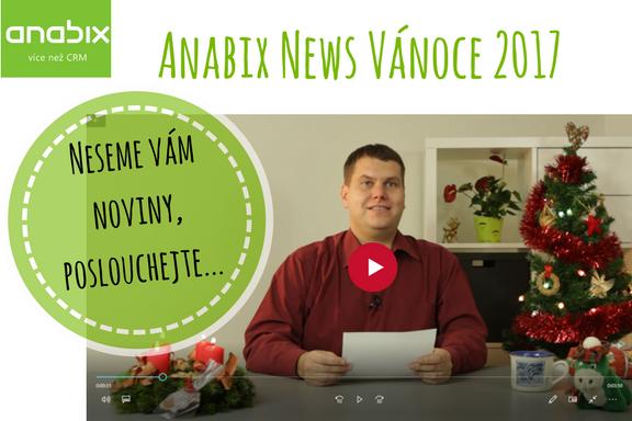Anabix NEWS 2 Vánoce 2017