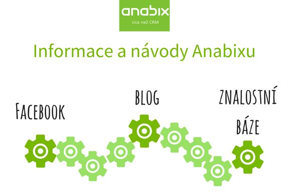 Hledáte informace nebo návody kAnabixu? Sledujte Facebook, blog aznalostní bázi