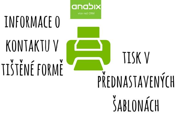 Tisk vAnabixu: důležité informace snadno arychle