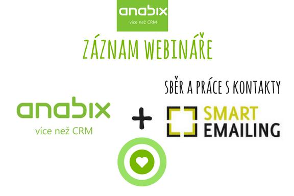 Propojení Anabixu aSmartEmailingu (záznam webináře)