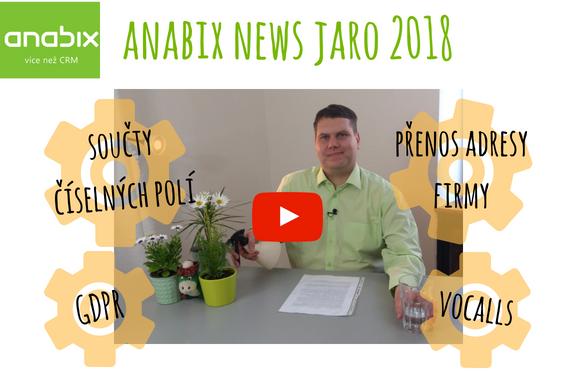 Anabix News 3 – Jaro 2018