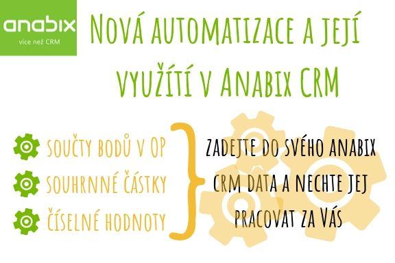 Nová automatizace ajak ji využít vAnabix CRM