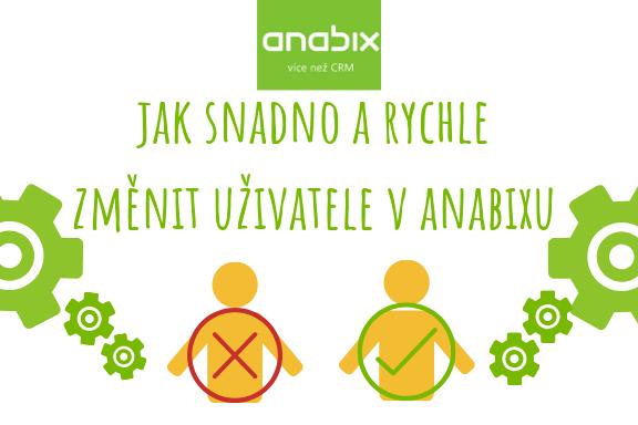 Jak změnit uživatele sAnabixem snadno arychle