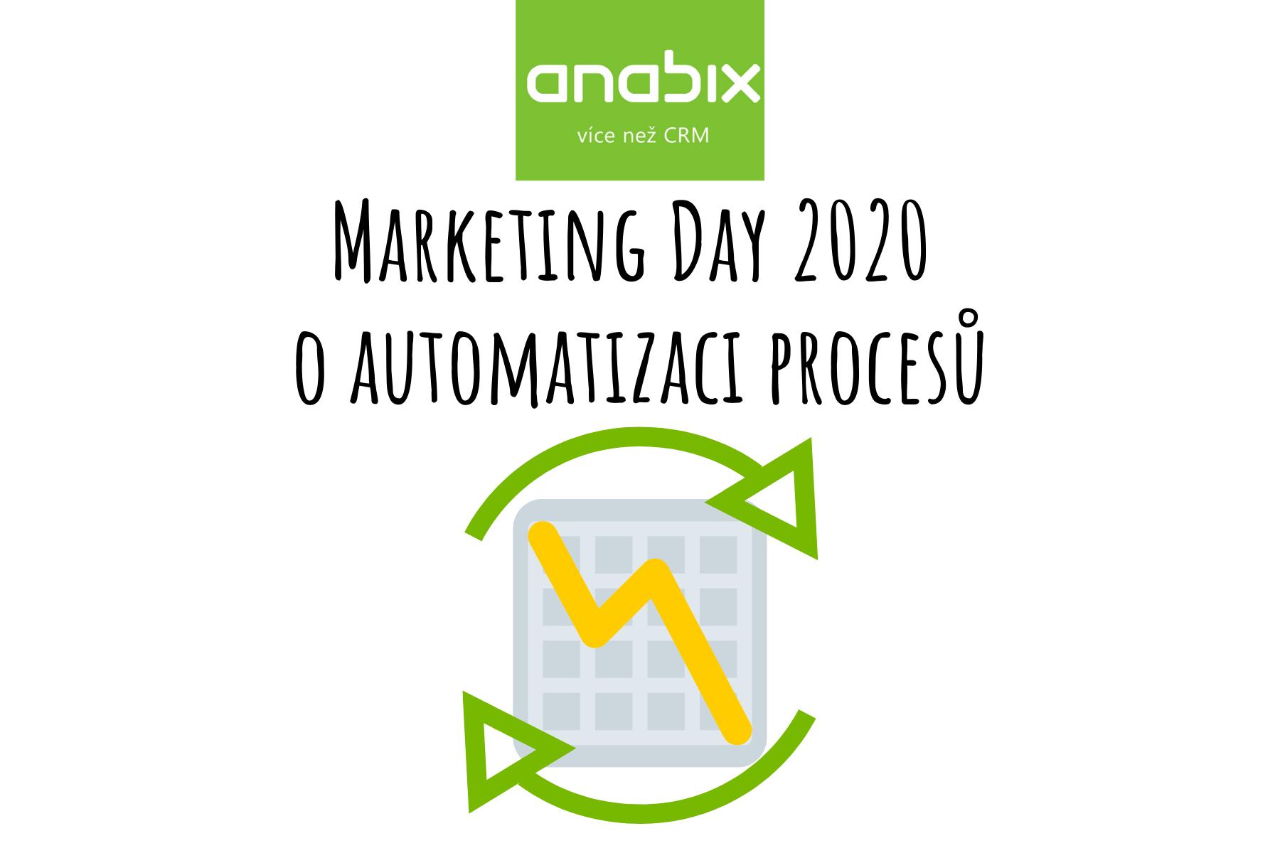 Marketing Day 2020 oautomatizaci procesů