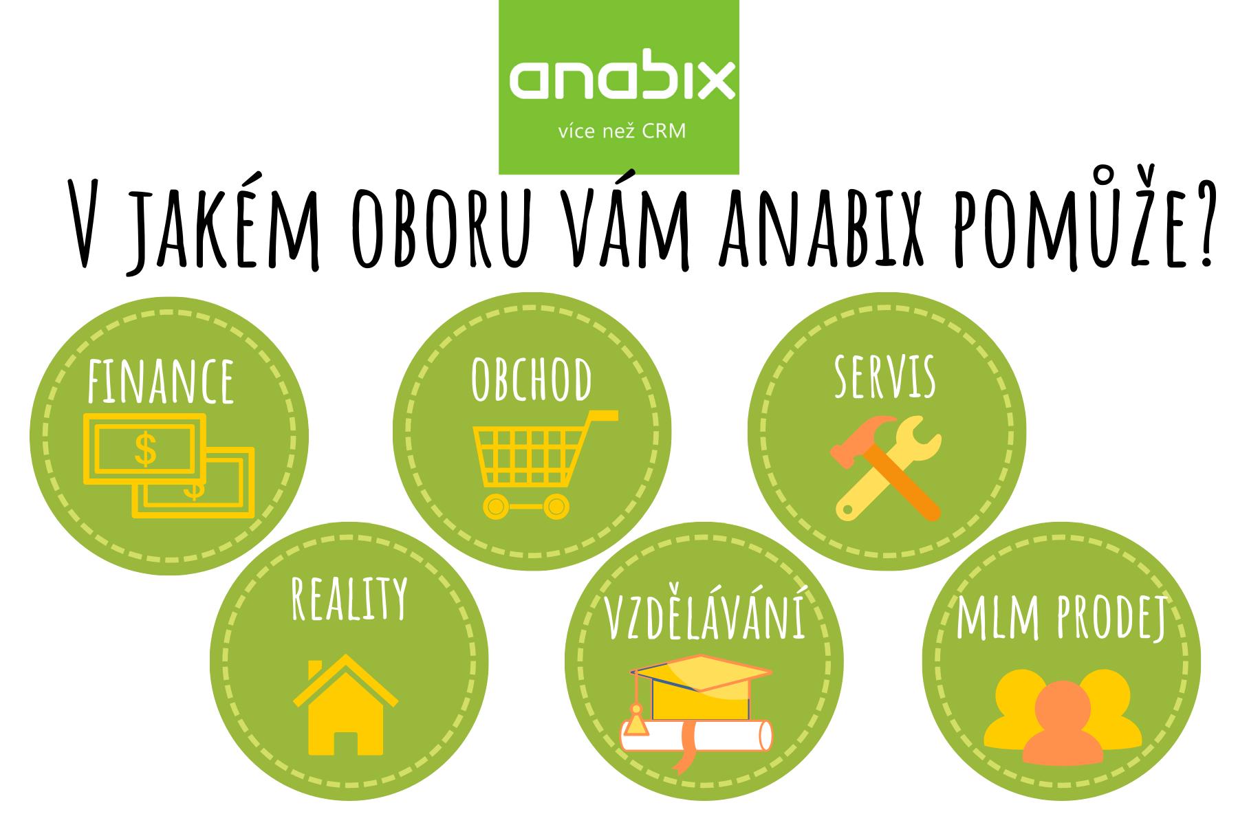 V jakém oboru se bez Anabix CRM téměř neobejdete?