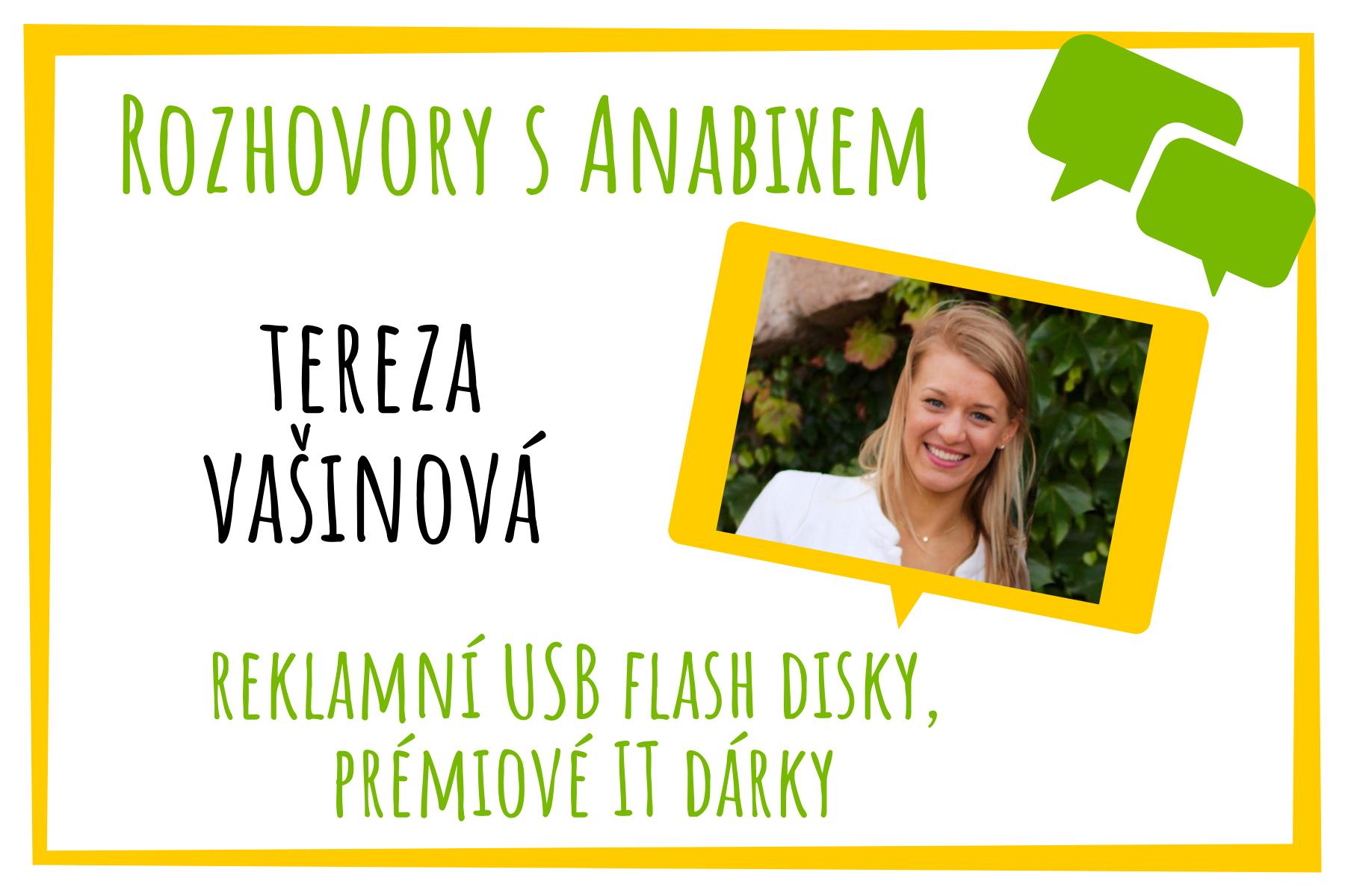 Rozhovory sAnabixem - Tereza Vašinová