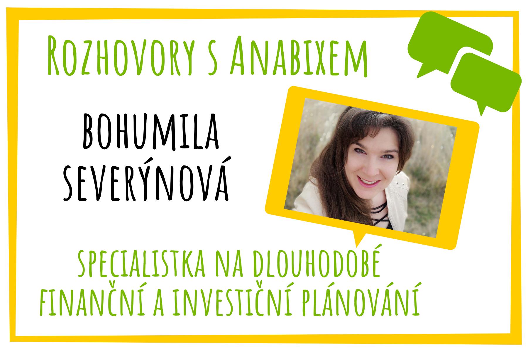 Rozhovory sAnabixem - Bohumila Severýnová