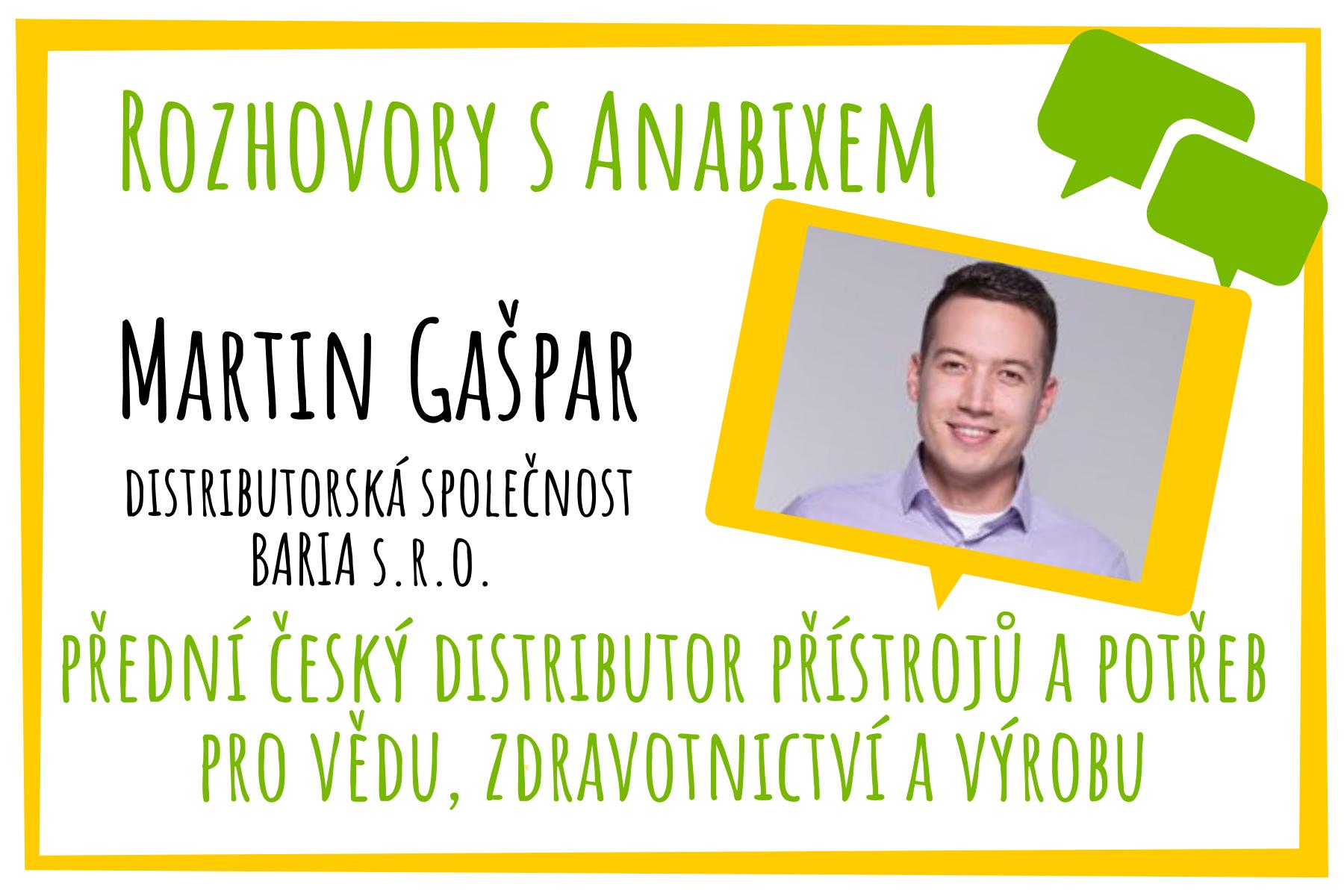 Rozhovory sAnabixem – Martin Gašpar
